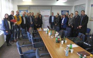 """Radna grupa projekta """"Uvođenje sistema upravljanja za tokove posebnih kategorija otpada u dva kantona u Bosni i Hercegovini"""""""