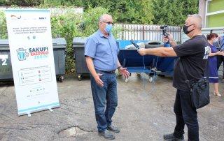 Uvođenje sistema upravljanja za tokove posebnih kategorija otpada u dva kantona u Bosni i Hercegovini - Info dan za medije u Travniku