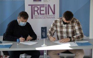 Projekt TREIN - Potpisani Ugovori o dodjeli grant sredstava